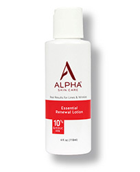 Alpha Skin Care Essential Renewal Lotion bottle