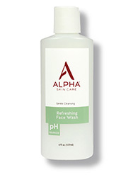 Alpha Skin Care Refreshing Face Wash bottle